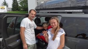 Karel et sa famille