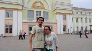 Avec Olga