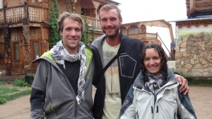 Avec Nicolas et Nathalie